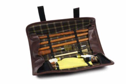 INTELCASE Leather Wood Rod Kit