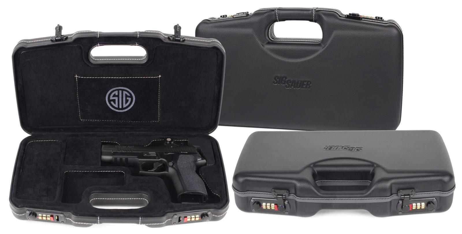 SIG SAUER® Luxury Handgun Cases lineup