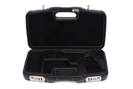 Negrini Model 1911 Luxury Leather Handgun Case - 2018SPLX/6034 - interior