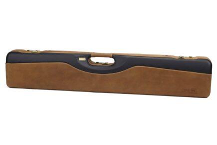 Negrini PLX Leather OU/SXS/Auto/Pump UNICASE Travel Shotgun Case - 16406PLX-UNI/5903 exterior