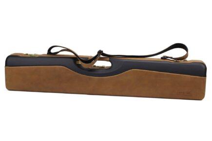 Negrini PLX Leather OU/SXS/Auto/Pump UNICASE Travel Shotgun Case - 16406PLX-UNI/5903