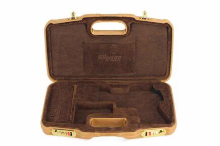 SIG SAUER® Brown Executive Handgun Cases - 2018SPL/6109 - interior